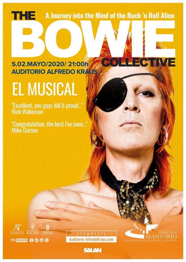 Tributo David Bowie en Las Palmas de Gran Canaria