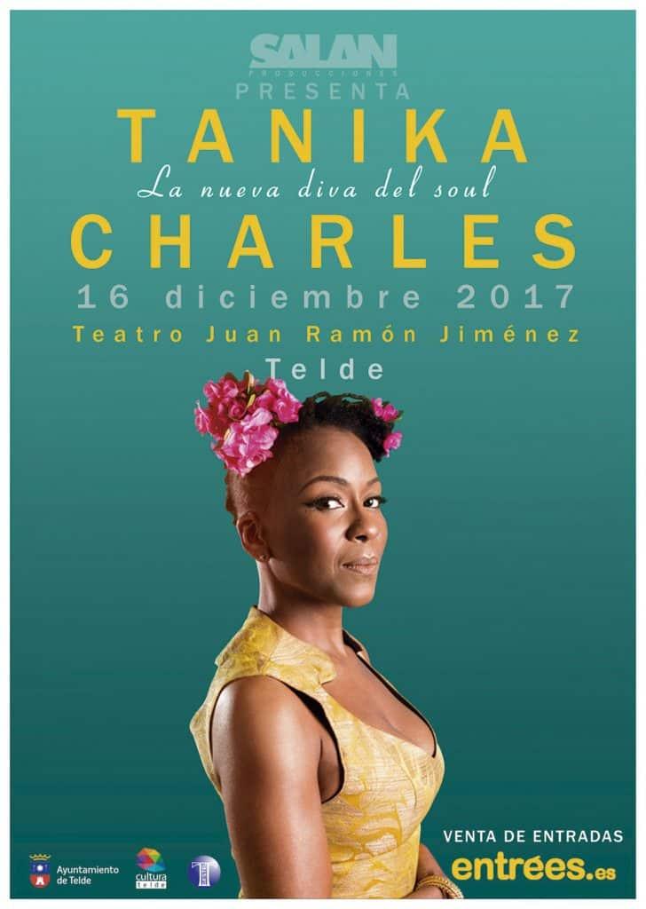 Concierto Tanika Charles en Las Palmas