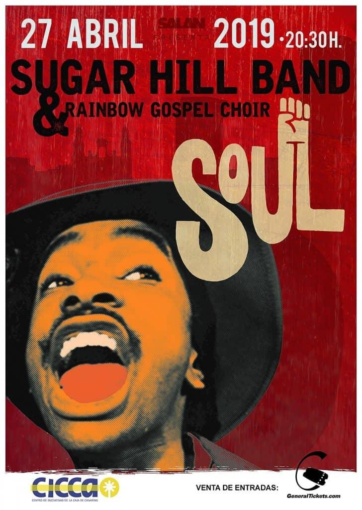Cartel banda de música Sugar Hill Band